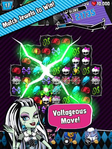 Monster High Ghouls and Jewels для планшетов на Android