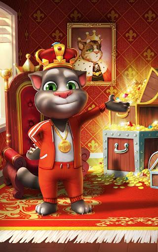 """Игра """"Talking Tom Cat"""" на Андроид"""