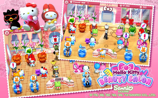 """Игра """"Hello Kitty Beauty Salon"""" для планшетов на Android"""