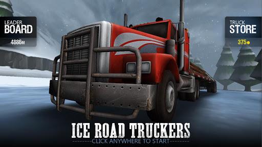 """Игра """"Ice Road Truckers"""" на Андроид"""