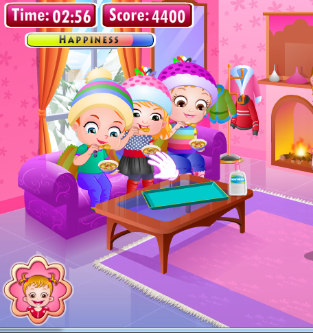 Игра Baby Hazel Winter Fun на Андроид