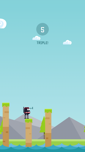 Spring Ninja на Андроид