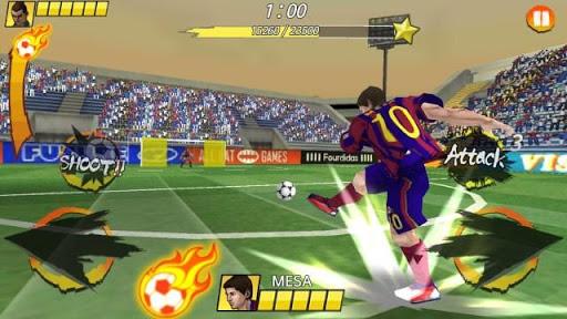 Football King Rush скачать на планшет Андроид
