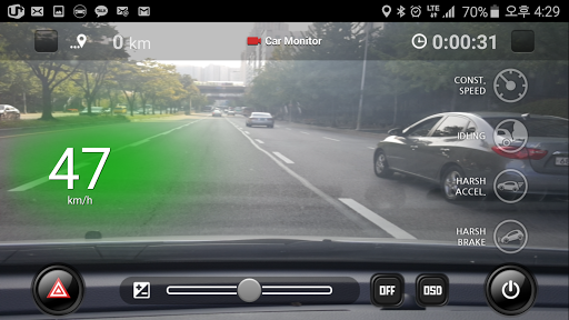 "Навигатор ""CaroO Pro Driving Recorder"" на Андроид"