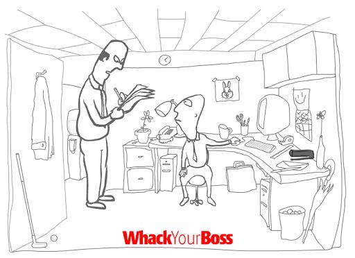 Игра Whack Your Boss на Андроид