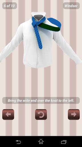 Как завязывать галстук -3D Pro на Андроид