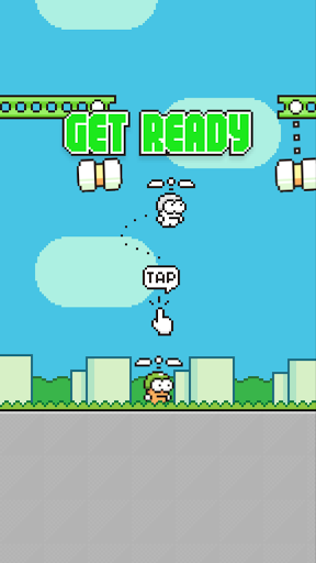 Swing Copters для планшетов на Android