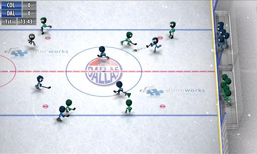 Stickman Ice Hockey для планшетов на Android