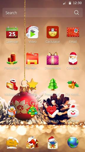 3D Рождественская тема скачать на Андроид