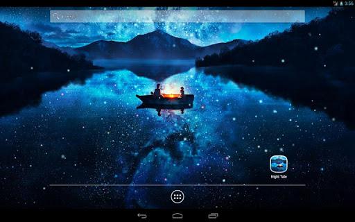 Night Tale Free Live Wallpaper скачать на Андроид