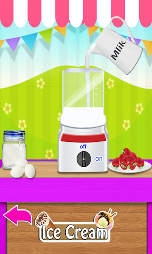Мороженое Maker для планшетов на Android