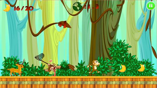 Jungle Monkey Run для планшетов на Android