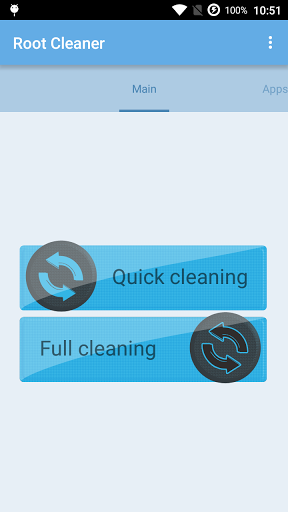 """Приложение """"Root Cleaner"""" на Андроид"""