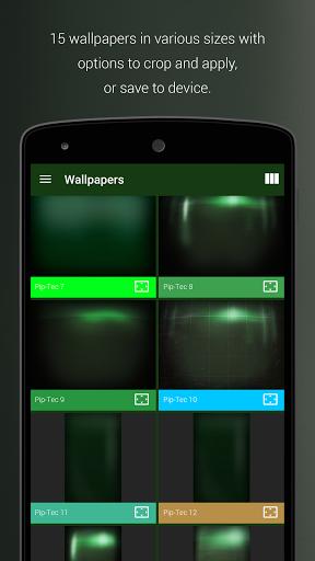 Pip-Tec Free - Fallout Theme скачать на Андроид