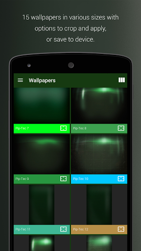 Pip-Tec Free - Fallout Theme скачать на планшет Андроид