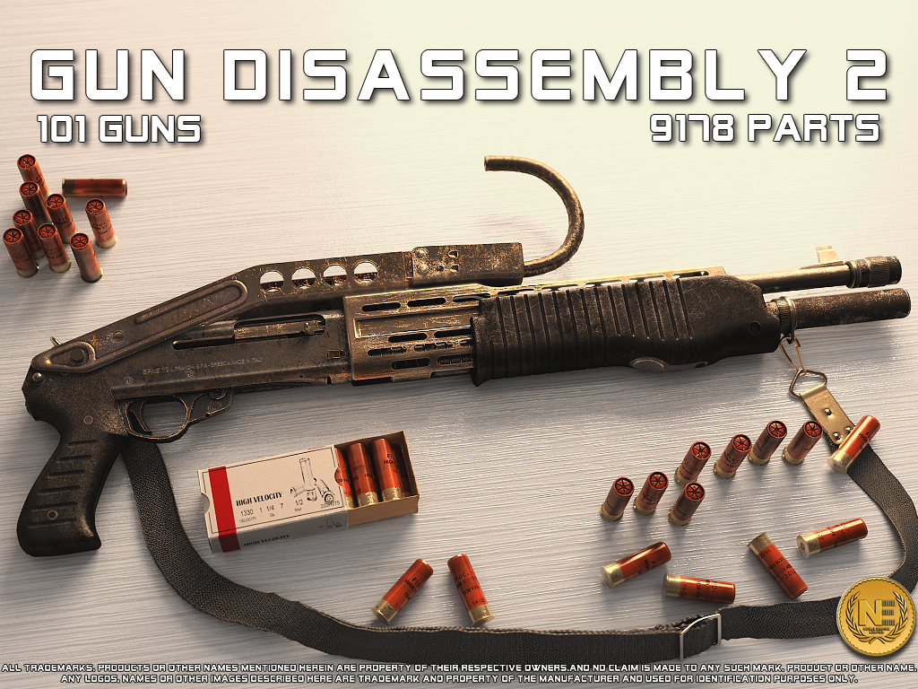 Энциклопедия оружия Gun Disassembly 2 для планшетов на Android