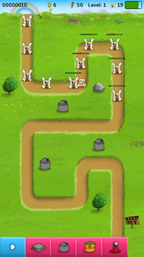 Rabbit defence для планшетов на Android