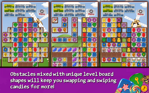 Игра Sugar Drops - Match 3 puzzle на Андроид