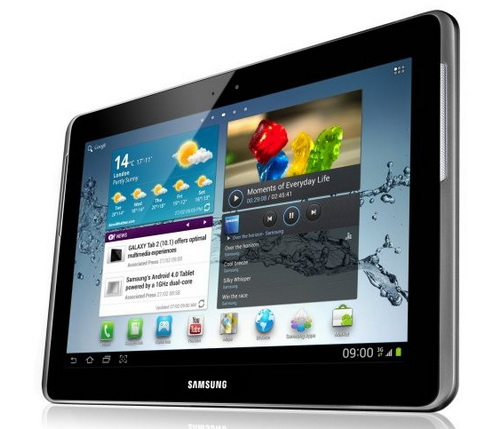 Samsung анонсировал новый планшет Galaxy Tab 2 10.1