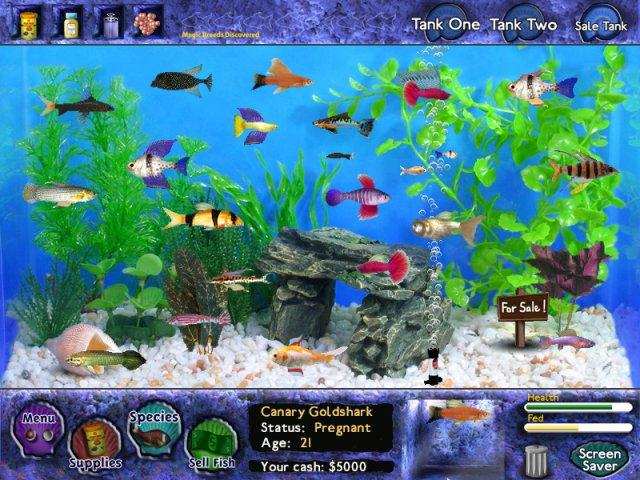 Игра «Fish Tycoon»