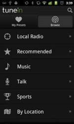 Проигрыватель TuneIn Radio