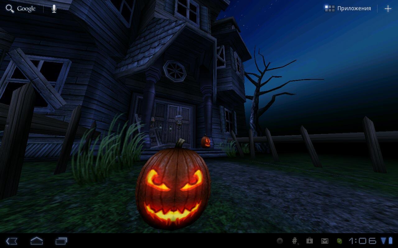 Живые обои Haunted House HD