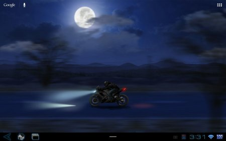 Живые обои RadiantWalls HD — Lone Rider