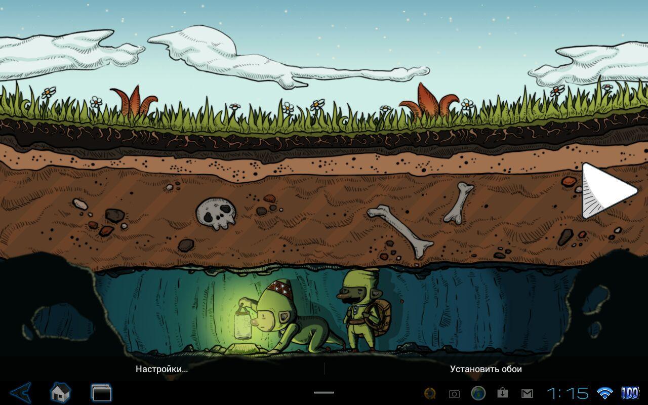 Живые обои RadiantWalls HD — Gnome's Life