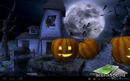 Новые обои Halloween Live Wallpaper