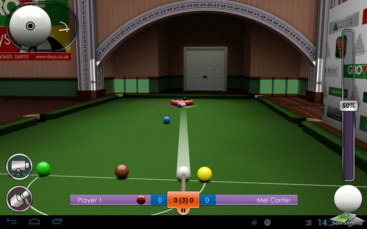 Игра «International Snooker Pro THD»