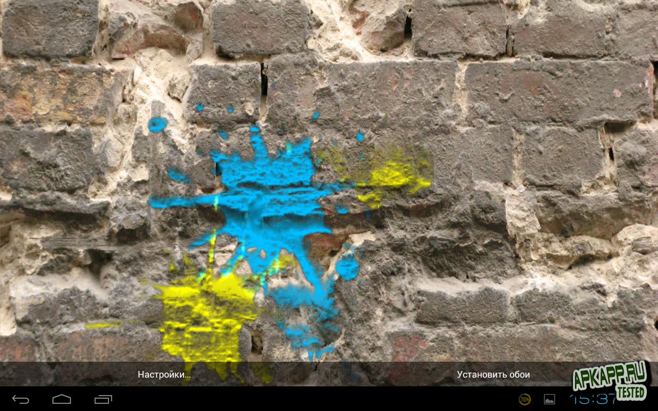 Живые обои Dynamic Paint Live Wallpaper