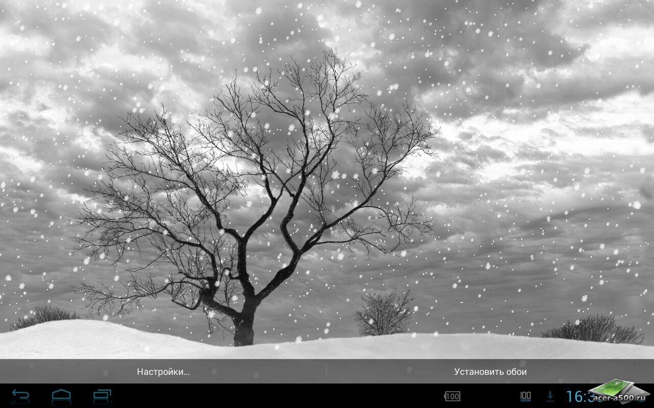 Живые обои Lonely Tree Live Wallpaper