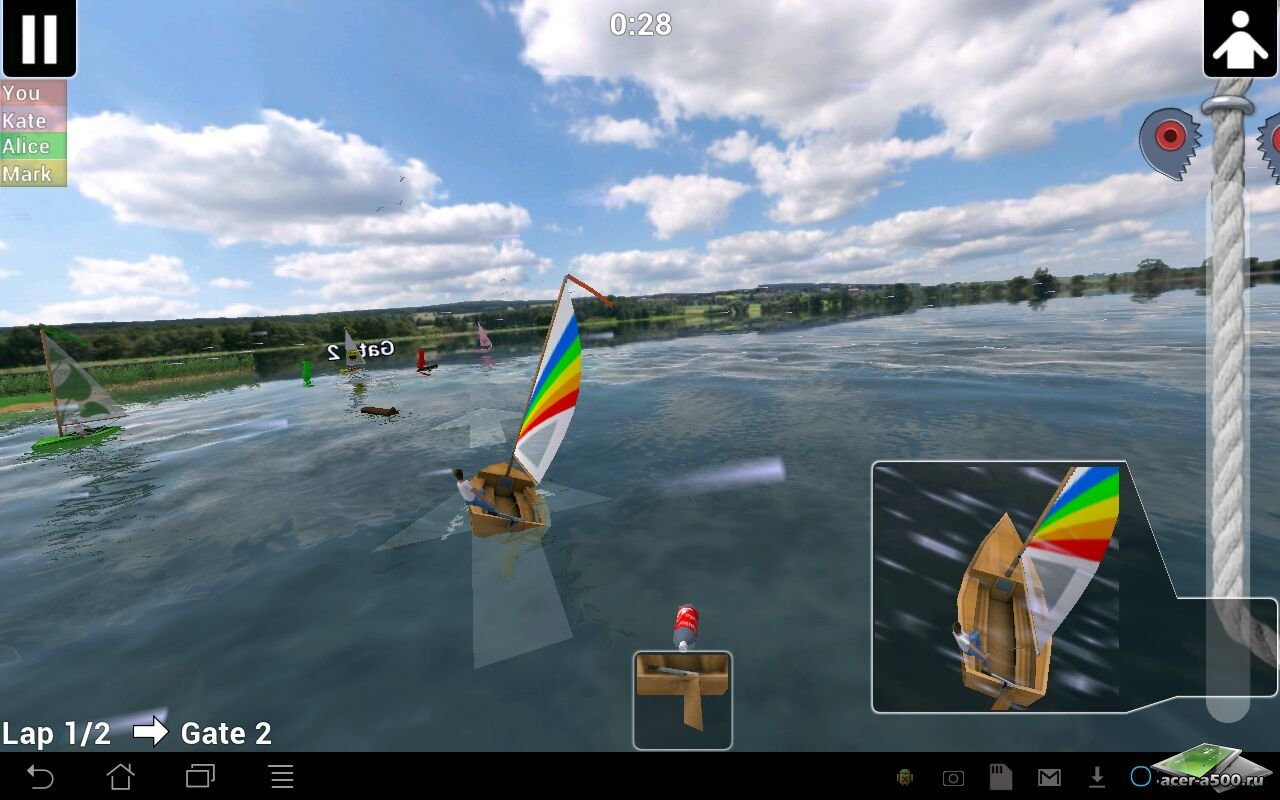 Top Sailor sailing simulator
