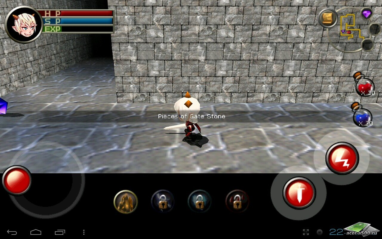 Игра «3D RPG Dungeon&Knight Plus»