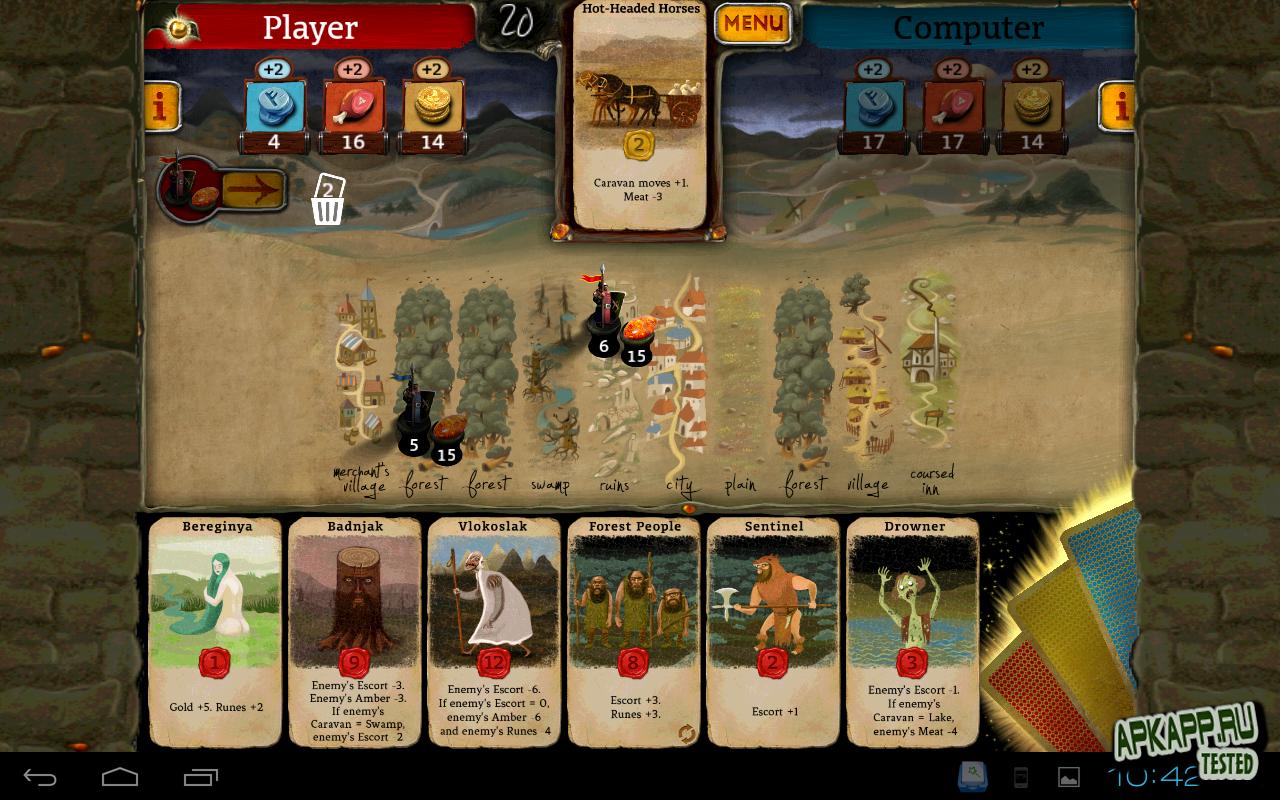 Пошаговая карточная игра андроид
