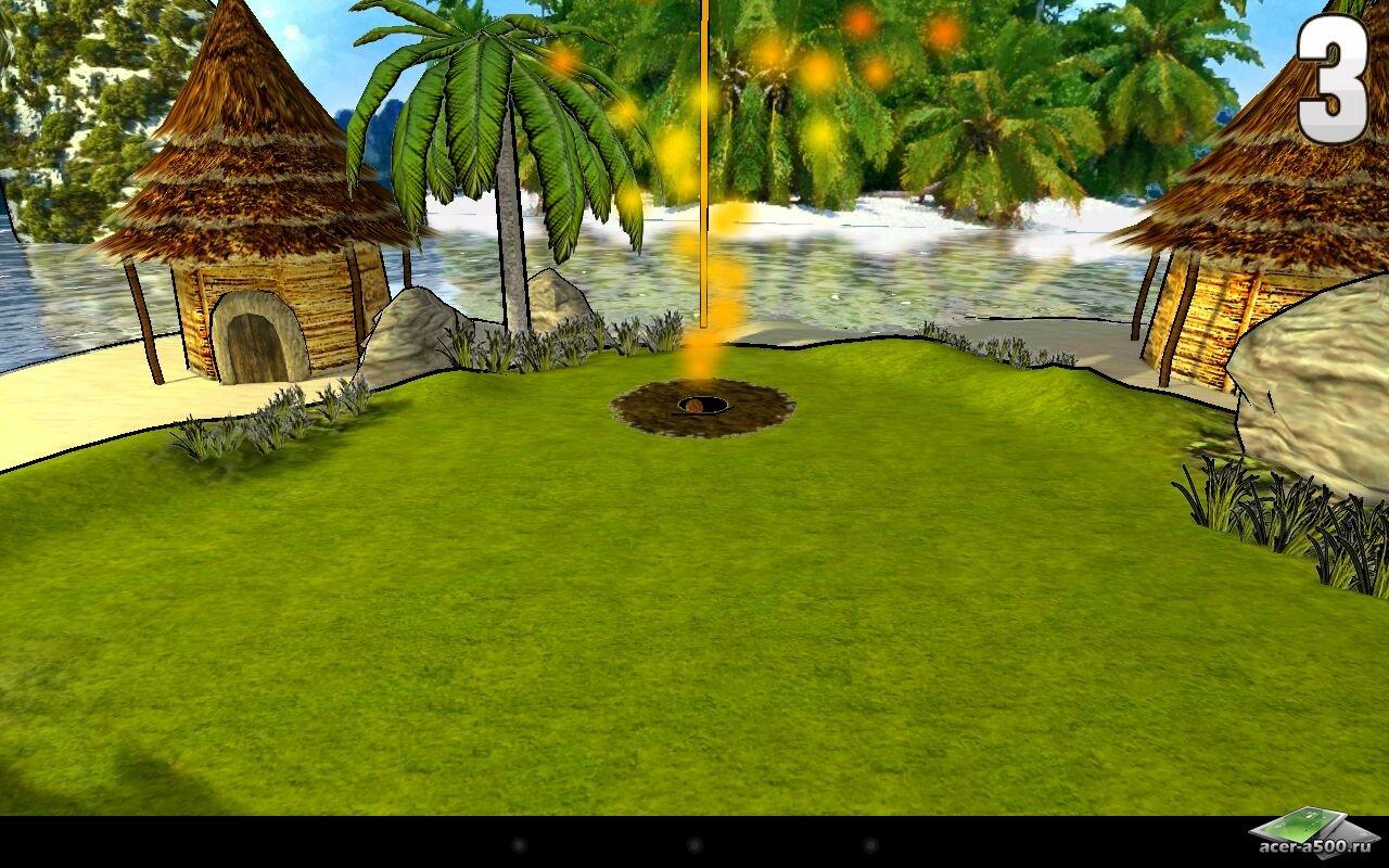 Игра «Armaroller (3D Mini Golf)»