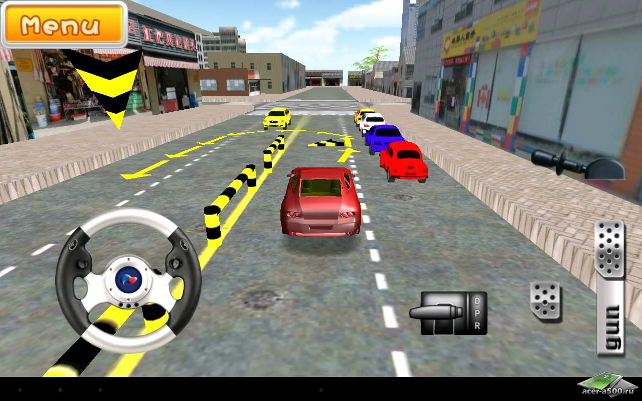 Игра «Driving School 3D»