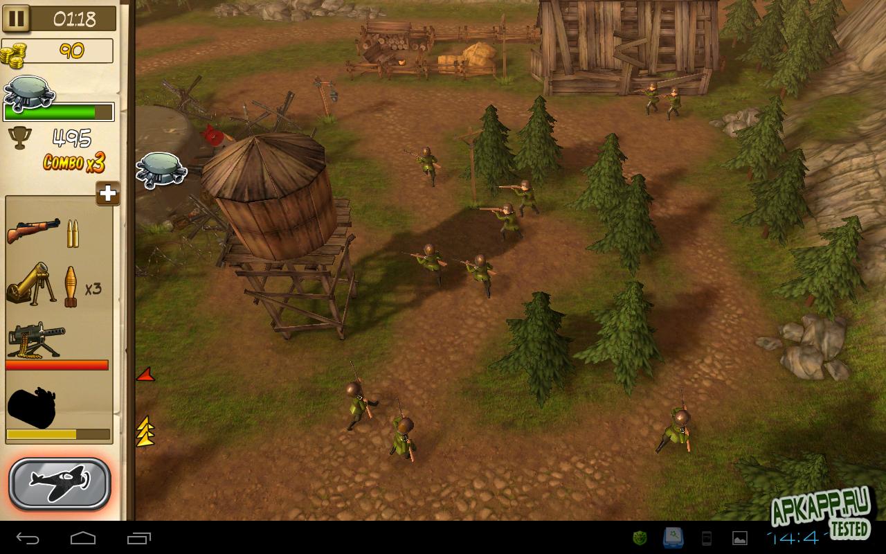 Игра «Hills of Glory 3D»