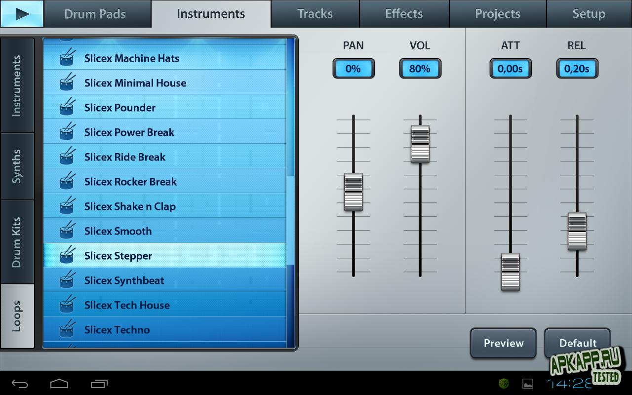 Приложение «FL Studio Mobile»
