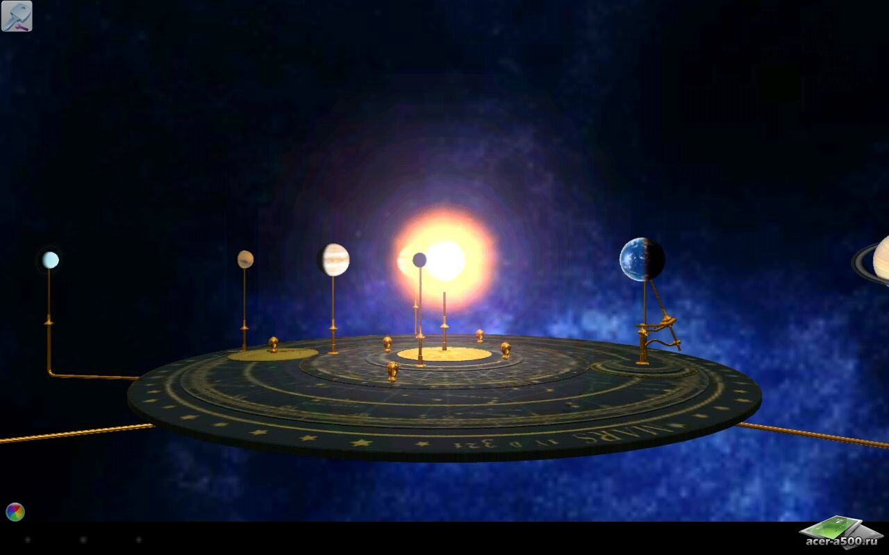 Виртуальный планетарий «Orrery»
