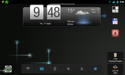 CyanogenMod 7 для планшета ZTE V9С