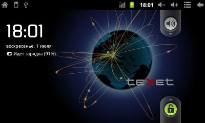 Официальная прошивка Android 2.3.4 для Texet TM-7025