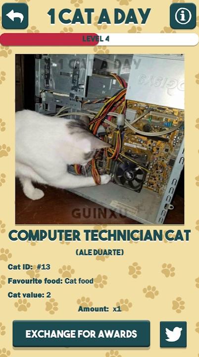 1 Cat a Day на Андроид