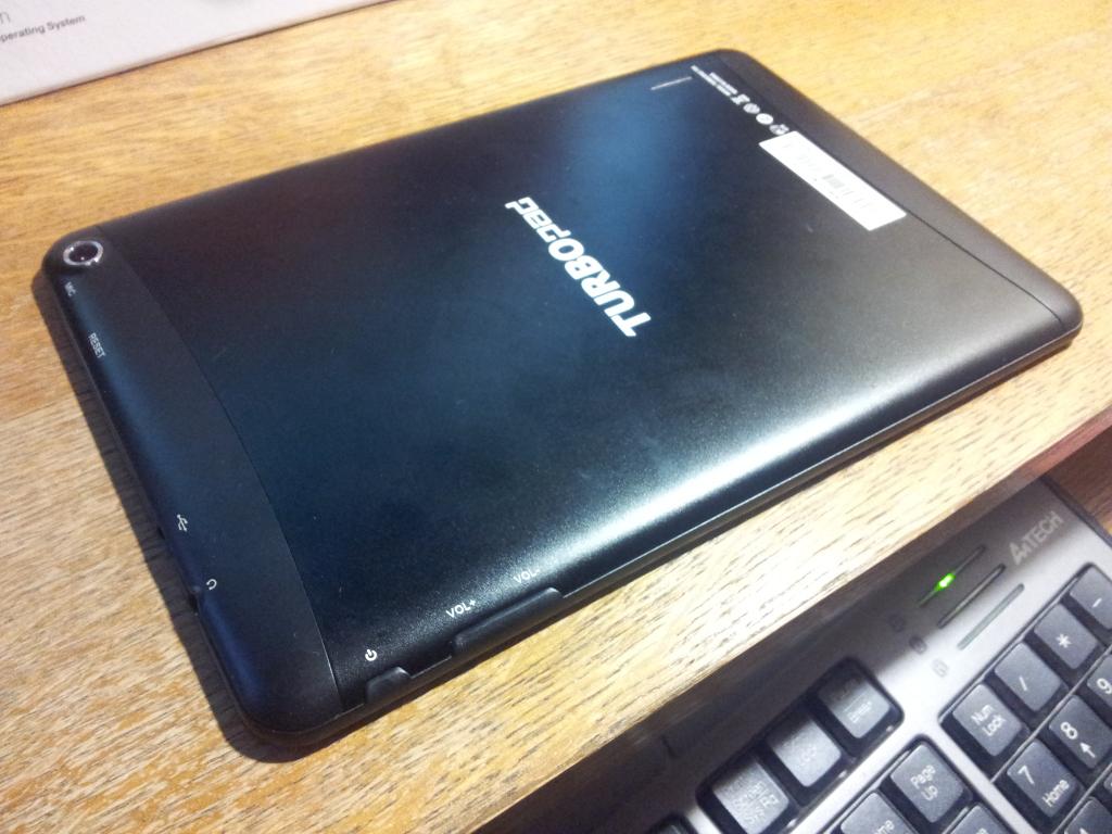 Turbopad 704 - Вид сзади