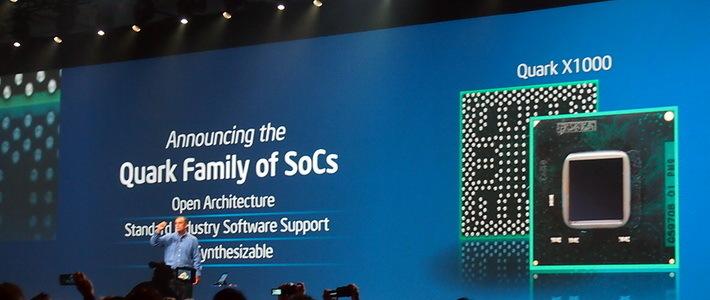 Intel представила процессор Quark X1000
