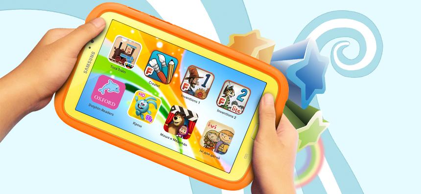 Лучший детский планшет