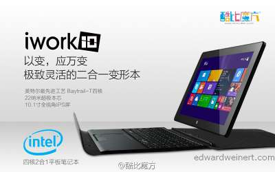 Cube iWork10 — обзор планшета
