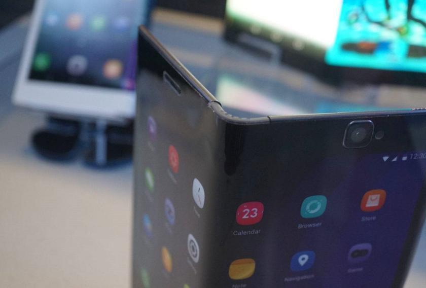 Huawei и BOE работают над революционным смартфоном со складным дисплеем