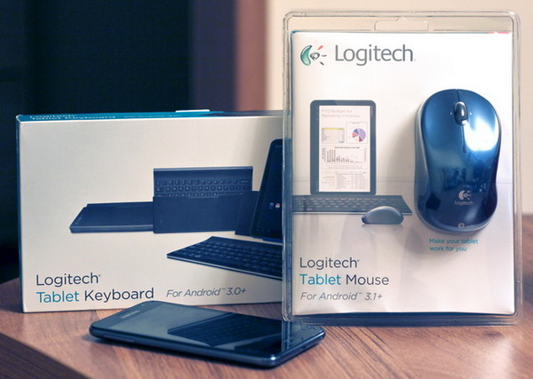 Обзор набора аксессуаров для Android-планшетов от Logitech