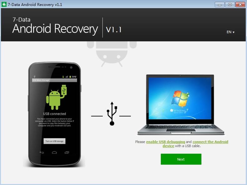 7-Data Android Recovery скачать на Андроид